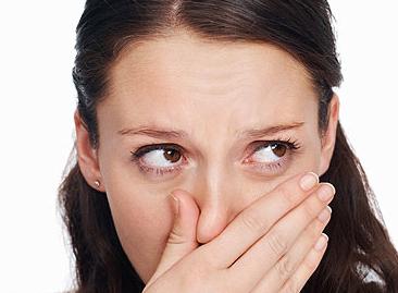 Болит кончик носа
